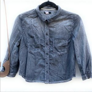 BDG Girls Small Chambray Shirt